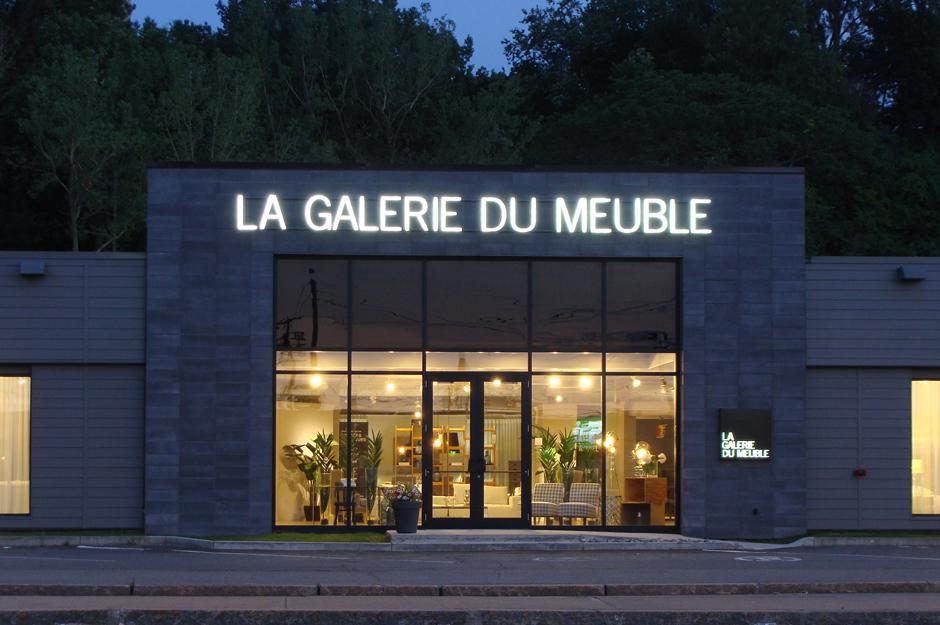 La galerie du meuble poitras industries for La galerie du meuble